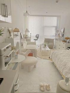 Room Design Bedroom, Room Ideas Bedroom, Home Room Design, Bedroom Decor, Small Bedroom Inspiration, Study Room Decor, Small Room Design, Minimalist Room, Aesthetic Room Decor