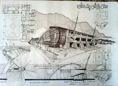 architectural Sketchs by Ehsan Olian at Coroflot.com:
