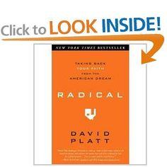 Radical, by David Platt