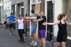SUB en BOKS - Een combinatie van bootcamp en boksen. Sebastiaan de Ranitz samen met Mijke van Grinsven. Voor herhaling vatbaar!