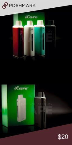 eLeaf iCare Kit Black 15w iCare Product Introduction: The iCare is a compact e-cigarette starter kit with an internal tank and airflow system. It is quite simple to use for the automatic On/Off feature that initiates when vaping. The e-liquid can be refilled into the tank from top with ease. three color LEDs, you can easily check the battery status by a simple glance at the color of the light.  Kit  Includes 1 x iCare Mini Mod 1 x iCare Mini PCC 2 x IC 1.1ohm Coil Heads 1 x User Manual 1 x…