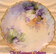 Handpainted Violets plate 43550a9117bba000b57b3da5ef2a13b2.jpg (JPEG Image, 781×763 pixels)