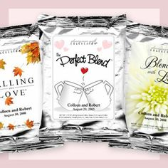 as a coffee addict, you can bet I want these as my wedding favours!