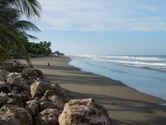 The View from Monty's Beach Lodge in Nicaragua