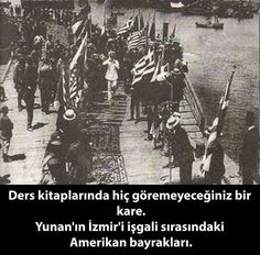 The American flag during occupation of Izmir(Smyrna) Turkey Smyrna Turkey, Old Photos, Vintage Photos, Turkish War Of Independence, Greek History, Great Leaders, Ottoman Empire, Wwi, Istanbul
