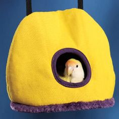 Warm Cozy Bird Hammock Cave Bed