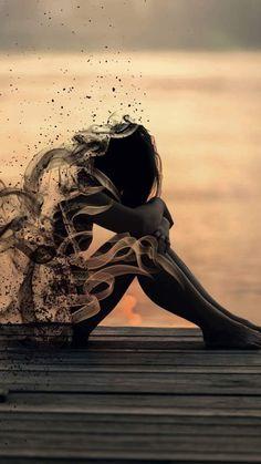Ideas for sad art girl people Alone Photography, Street Photography, Lonely Girl Photography, Wallpaper Downloads, Hd Wallpaper, Alone Art, Arte Obscura, Sad Art, Gothic Art