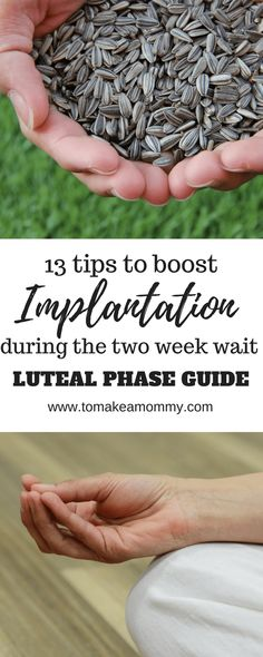 Boost your chances of implantation and conception during the luteal period with these 13 tips! Good for natural TTC, IUI, IVF, donor egg, and embryo transfer! embarazadas fashion fotos ideas moda diet first yoga fashion fotos outfits tips women Chances Of Getting Pregnant, Pregnant Mom, Get Pregnant Fast, Trying To Get Pregnant, First Time Moms, Baby Hacks, Baby Tips, Mom Hacks, Pregnancy