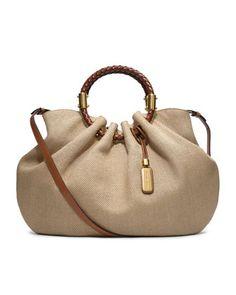 Michael Kors Skorpios Canvas Ring Tote // Cute Handbag for Summer - Bon Voyage