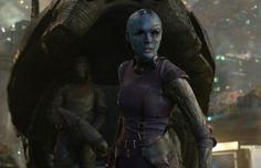 Nebula (Karen Gillan) | All Of The Marvel Studios Movie Villains, Ranked From Worst To Best