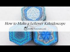 Leftover Polymer Clay Kaleidoscope Tutorial