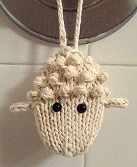 Wooly soap-on-a-rope by CiD Hanscom===Is this little guy cute or what?!~Dee