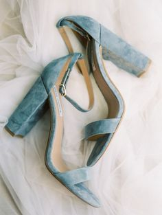 37 Prettiest Shades of Blue Wedding Ideas for 2019 Trends - Page 2 of 2 - Oh Best Day Ever - dusty blue velvet wedding heels - Dr Shoes, Cute Shoes, Me Too Shoes, Shoes Heels, Shoes Sneakers, Jeans Shoes, Pumps, Types Of Shoes, Fashion Shoes