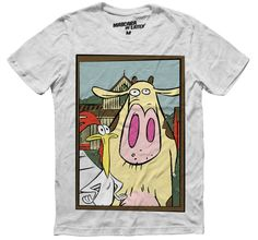 CHICKEN AND HIS COW by mascaradelatex.com