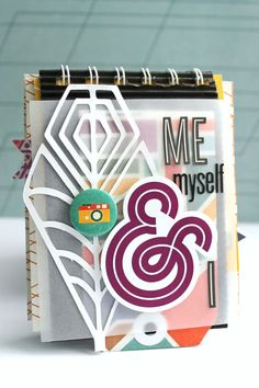 Me, Myself & I - #minialbum for @cliquekits using October kit Masquerade Ball #basicgrey #cliquekits