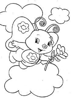 Marmalade Brings A Sweet Flower Strawberry Shortcake Coloring Pages