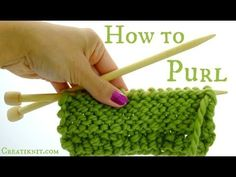 CreatiKnit   |    How to Knit and Purl…and rhymes!