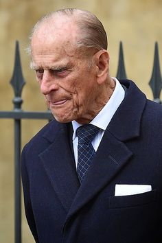 Prince Philip, Duke of Edinburgh arrives to attend the Easter Sunday service at St George's Chapel at Windsor Castle on April 2015 in Windsor, England Royal Monarchy, British Monarchy, Queen And Prince Phillip, Prince Philip, Elizabeth Philip, Queen Elizabeth Ii, James Park, Queen Husband, Countess Wessex