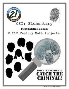 CSI: Elementary -- STEM Project -- Complete eBook
