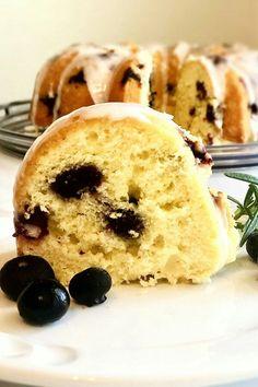 "Easy Lemon-Blueberry Bundt® Cake | ""This cake was amazing! Very moist and a lot of lemon flavor."" #cakerecipes #bakingrecipes #dessertrecipes #cakes #cakeideas Easy Banana Pudding, Lemon Pudding Cake, Lemon Bundt Cake, Lemon Cake Mixes, Bundt Cakes, Cake Mix Recipes, Baking Recipes, Dessert Recipes, Desserts"