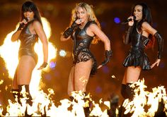 Larger stage: The singer was joined by her former Destiny's Child partners Kelly Rowland and Michelle Williams during her Super Bowl halftime performance in February 2013 Destiny's Child, Beyonce, Archive Footage, Interview, Kelly Rowland, Michelle Williams, Music Pictures, Pictures Of The Week, Hit Songs
