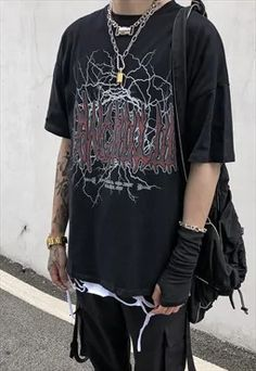 Mens 90s Grunge | ASOS Marketplace Aesthetic Grunge Outfit, Aesthetic Clothes, Aesthetic Shoes, Punk Outfits, Cool Outfits, Soft Grunge Outfits, Grunge Clothes, Emo Clothes, Black Clothes