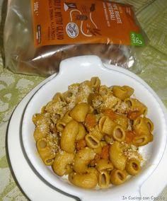 Pasta Integrale Ecor: pipe rigate alla zucca