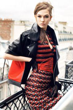Karlie Kloss, model, Vogue Festival speaker. Buy tickets to this year's Vogue Festival: http://www.vogue.co.uk/special-events/vogue-festival-2014/buy-tickets