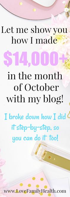 #MakeMoneyOnline October income report!