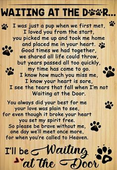"""The breed is commonly referred to as the """"Mastiff"""". Also known as the English Mastiff this giant dog breed gets known for its splendid, good natu I Love Dogs, Puppy Love, Pet Poems, Pet Loss Grief, Dog Loss Poem, Dog Loss Quotes, Dog Quotes Love, Dog Heaven Quotes, Quotes For Dogs"""