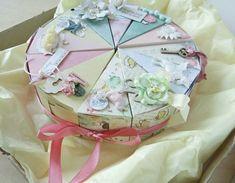 Бумажный тортик: необычный подарок своими руками ::: elle-craft — творчество со вкусом!