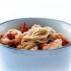 Shrimp Scampi Pasta.... Such a good, and easy, recipe!