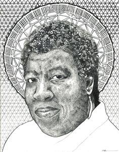 Octavia Butler © Mekhi baldwin  http://www.mekhibaldwin.com