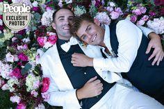 Garrett Clayton & Blake Knight September 4, 2021 Garrett Clayton, Alicia Silverstone, Teen Beach, Screenwriting, Celebrity Weddings, Movie Stars, Knight, September, Actresses