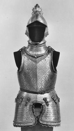 armor of Giovanni Battista Bourbon del Monte, XVI century.
