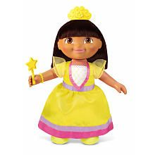 "Fisher-Price Talking Fairytale Adventure Dora Doll - Fisher-Price - Toys ""R"" Us"
