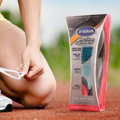 Dr. Scholl's Active Series- Product Aesthetics, Packaging & Display Design