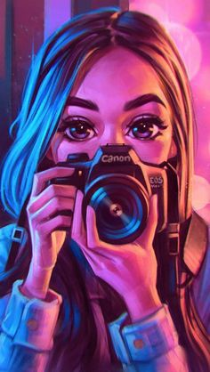 Canon Girl IPhone Wallpaper - IPhone Wallpapers