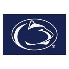 Fanmats Penn State Rectangular Indoor Machine-Made Sports Throw Rug (Common: 1-1/2 X 2-1/2; Actual: 1.583-Ft W X 2.5-Ft