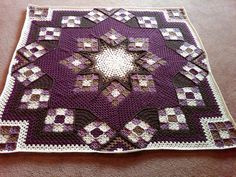 This is beautiful!! IMG00007-20090808-1804 by cyndielynn, via Flickr. http://www.ravelry.com/patterns/library/blue-star#