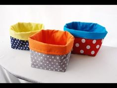 Utensilo winner, tutorial tip and pattern for your own Utensilo Youtube Sewing, Knitted Headband, Braid Headband, Learn To Sew, How To Make, Turn Blue, Sewing Aprons, Sewing For Beginners, Plastic Laundry Basket