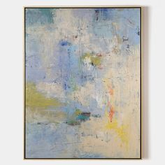 Bright Abstract Painting #ABAV79 - 48''x 32''/ 122 x 81 CM