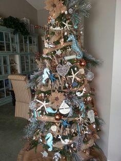 By the sea theme Christmas tree
