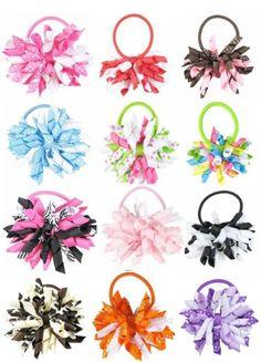 "HipGirl Boutique Girls 12pc Set 3"" Grosgrain Ribbon Korker Hair Bow Pony Holders - One Size. In Gift Box HipGirl,http://www.amazon.com/dp/B008L625CG/ref=cm_sw_r_pi_dp_aC3Osb0HXFXBMGA8"