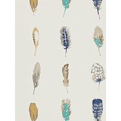 Buy Indigo/Mustard/Stone, 111075 Harlequin Limosa Wallpaper from our Wallpaper range at John Lewis & Partners.