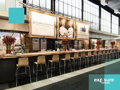 Spandoeken voor InterContinental Amstel Amsterdam en Landgoed Duin & Kruidberg tijdens de Masters of LXRY 2015 in opdracht van Expo Flora Harmelen.