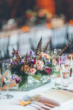Manhattan Wedding at The Bowery Hotel from Jimena Roquero  Read more - http://www.stylemepretty.com/new-york-weddings/2013/10/18/manhattan-wedding-at-the-bowery-hotel-from-jimena-roquero/