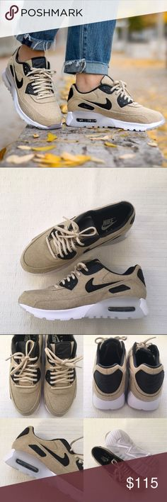 Women's Nike Air Max 90 Ultra Premium Sneakers Women's Nike Air Max 90 Ultra Premium Sneakers Style/Color: 859522-100  • Women's size 9.5  • NEW in box (no lid) • No trades •100% authentic Nike Shoes Sneakers