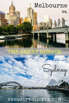 Melbourne vs. Sydney: Which is Better? #travel #australia #sydney #melbourne / / / / / Check out more travel photos and blog posts on my travel blog, frugalfrolicker.com