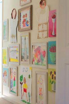 10 Creative Ways To Display Kid's Artwork | Chalk Kids